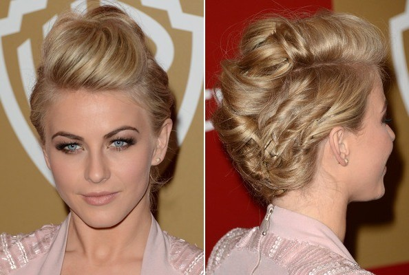 Stupendous The Most Beautiful Amp Hottest Updo Celebrity Hairstyles For Prom Short Hairstyles Gunalazisus