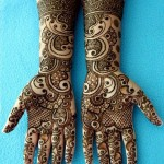arabic eid mehndi design for brides