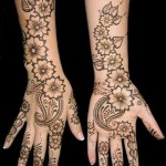 fully floral henna design for eid ul fitr