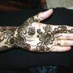 black eid mehndi design for hands