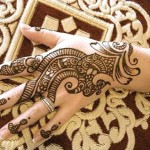 simple arabic mehndi design for eid