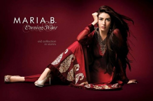 Maria B Latest Eid Collection 2013 for Women & Kids