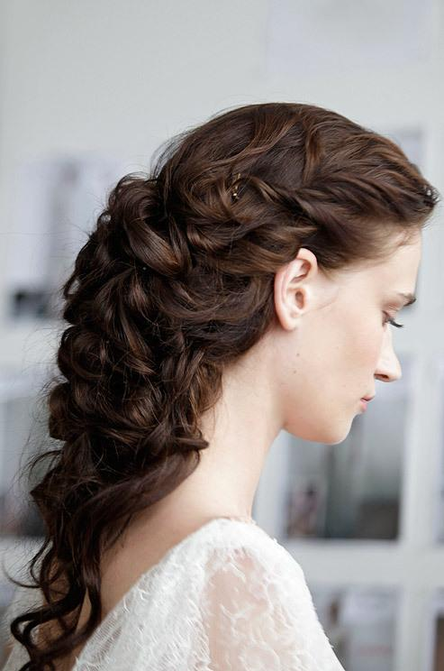 Model Wedding Hairstyles With Braids For Short Hair  Elite Wedding Looks
