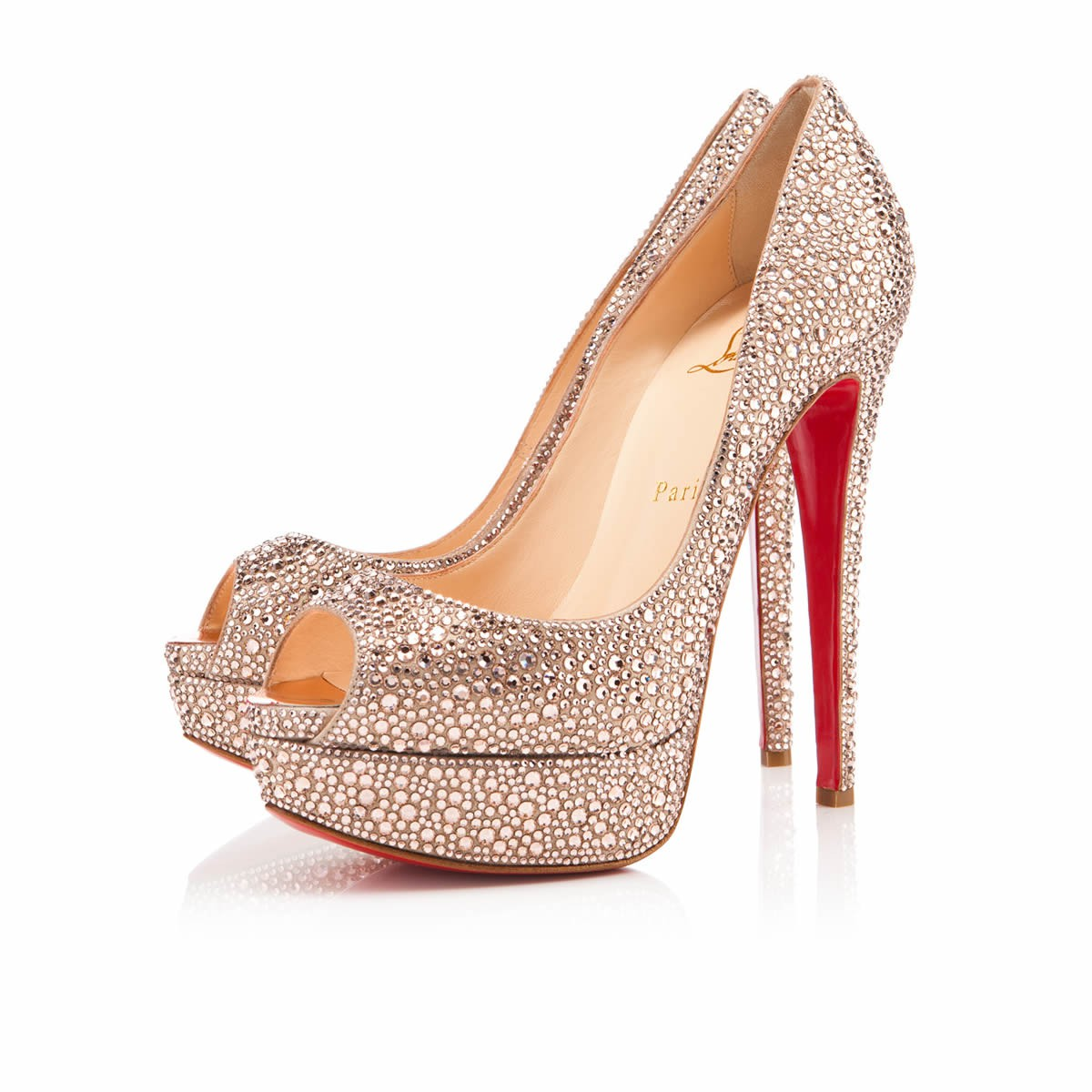 christian louboutin bridal footwear collection