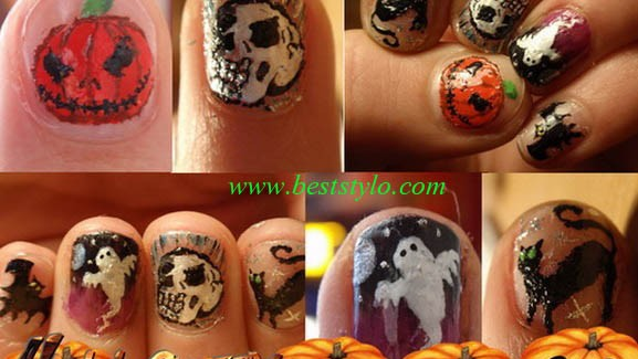 Best Halloween Nail Art Designs & Ideas