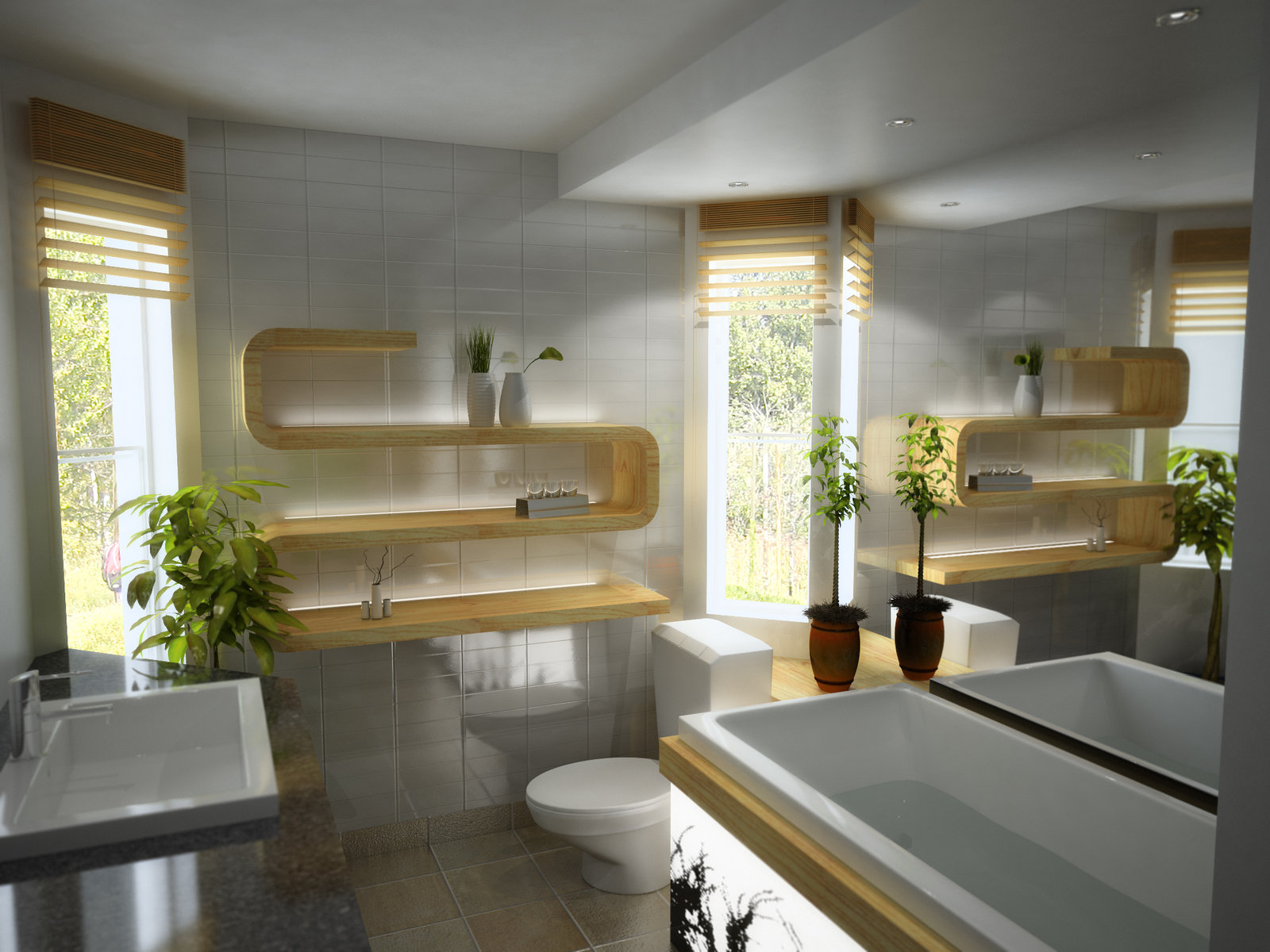 Modern Bathroom Design Beautiful House - Modern-bathroom-designs