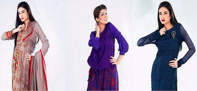Best Winter Dresses For Pakistani Girls 2013-2014