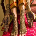 indian bridal mehndi design for hands and feet