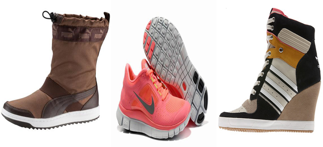 Fall Winter Shoes & Boots For Girls 2014 – 2015