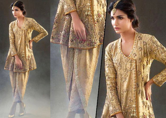 latest-design-of-golden-angrakha-with-tulip-pants