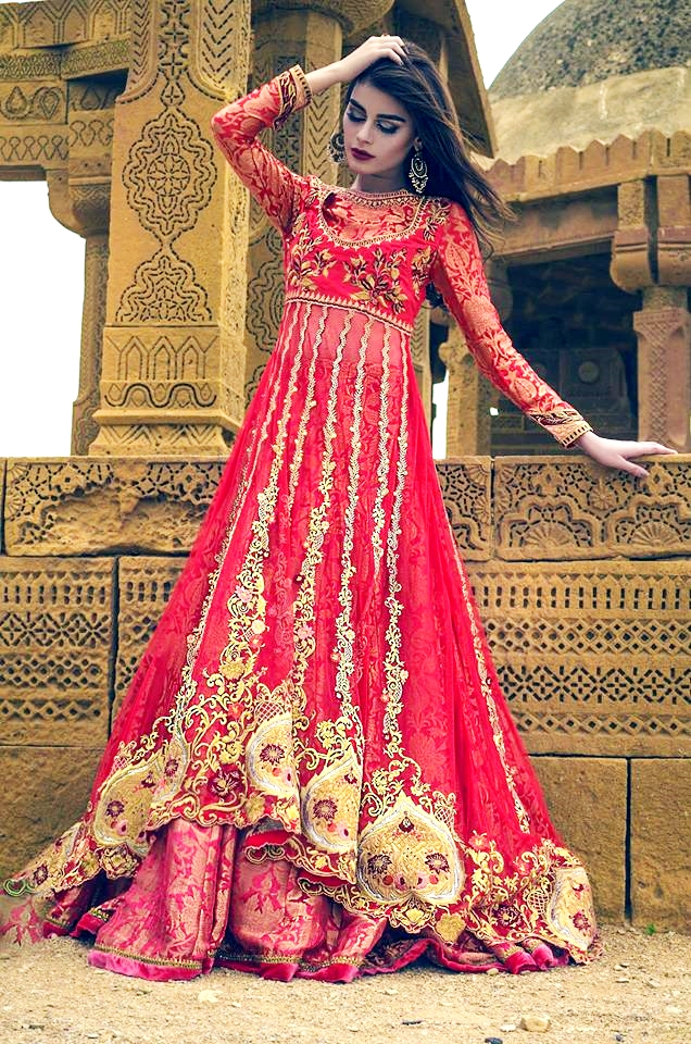 Imperial gold By tena durrani bridal collection 2016