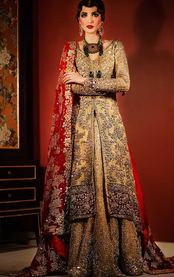 Opaline Crystal by tena durrani for brides 2016