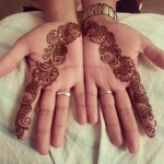 simple floral mehndi designs for hands