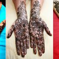 best black mehndi designs 2014-2015