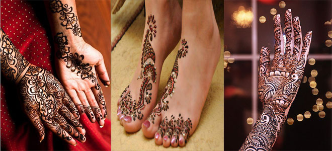 latest bridal mehndi designs 2014-2015