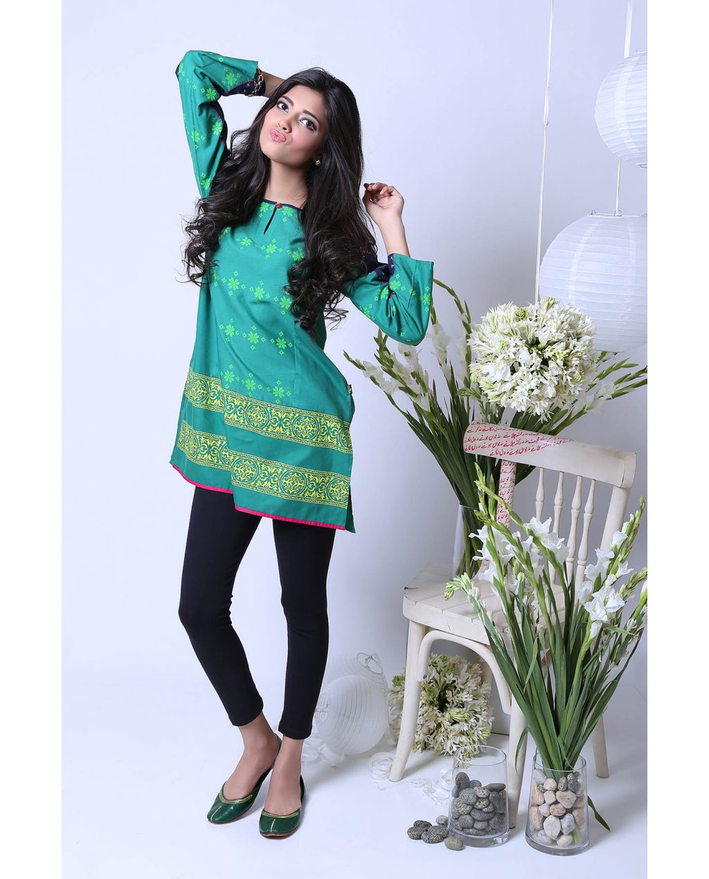 Laudable Cotton Kurta By Ego For Eid