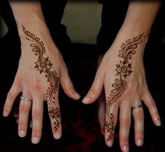 Simple Henna Tattoo Henna Tattoo: Easy & Simple Henna Designs For Beginners