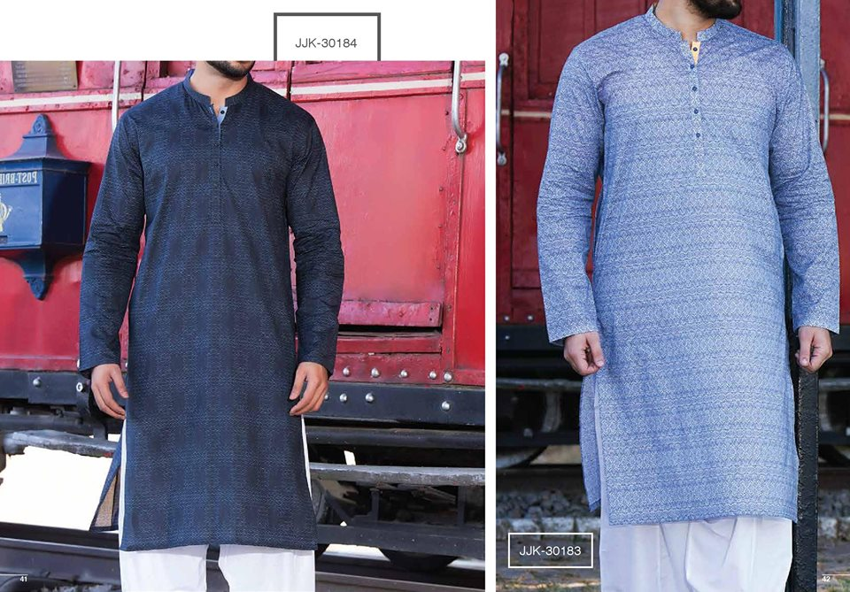 Blue Category Kurta Shalwar by junaid jamshed