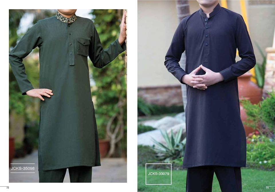 Blue and Dark green by junaid Jamshed