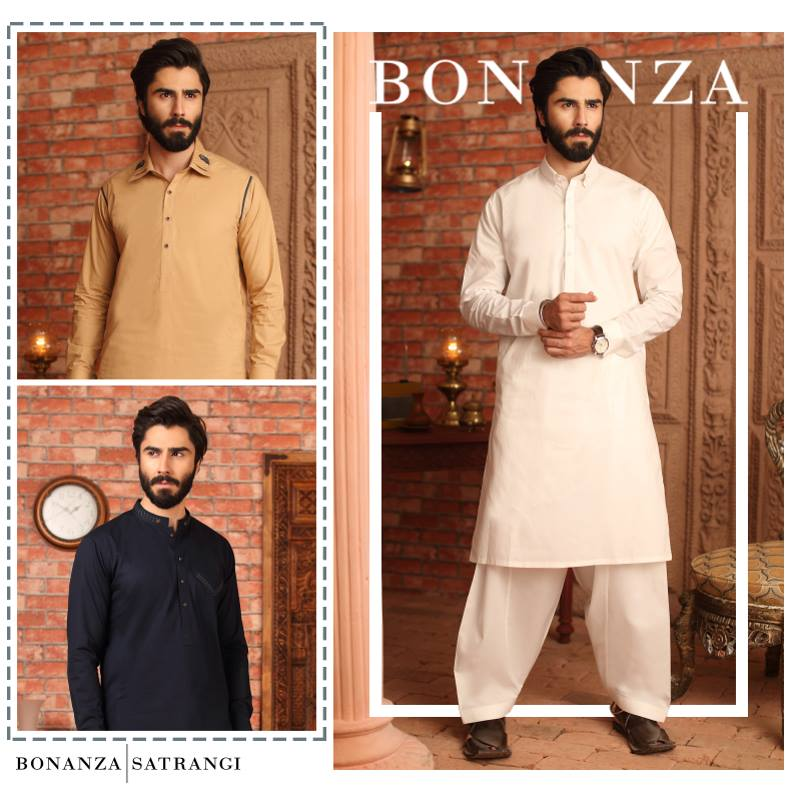 Ethnic Shalwar Kameez by Bonanza for men