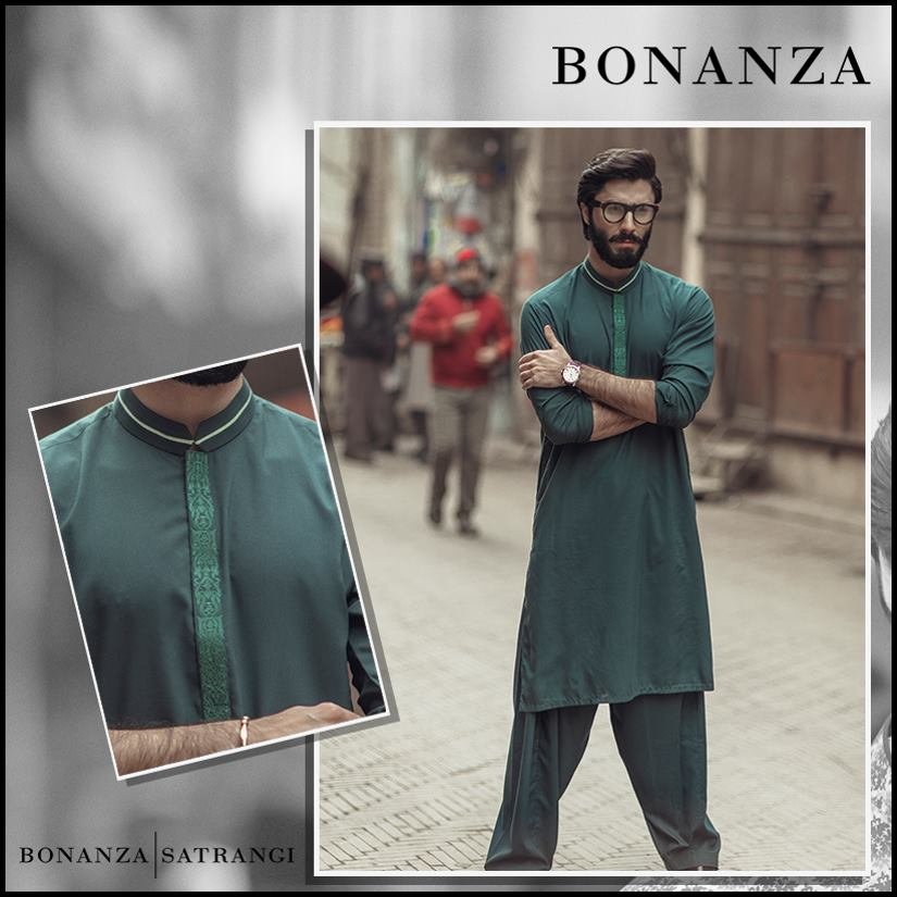 dark green by Bonanza for men