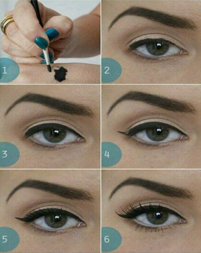 how to apply different eyeliner styles wwwpixsharkcom