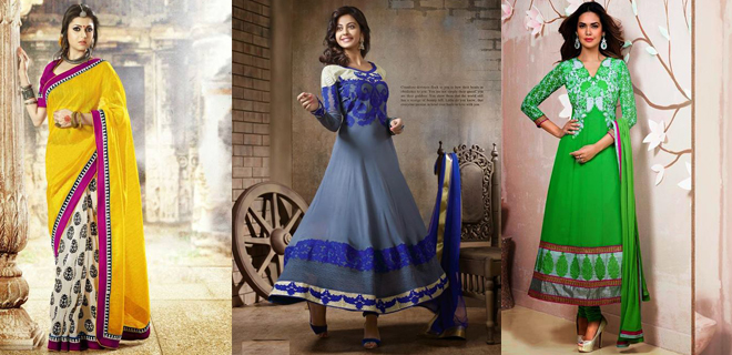 Best Indian Dresses For Women By India Emporium 2014-2015