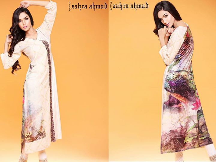 angrakha styled dress for winter by zahra ahmad