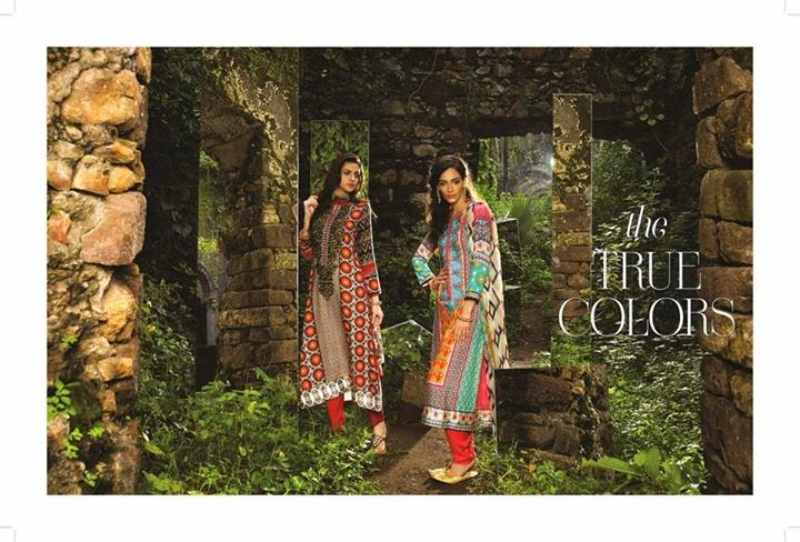 Jazzy colored dresses by maria b indian pashmina collection