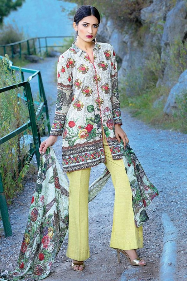 Pale yellow party dress by motifz for fall