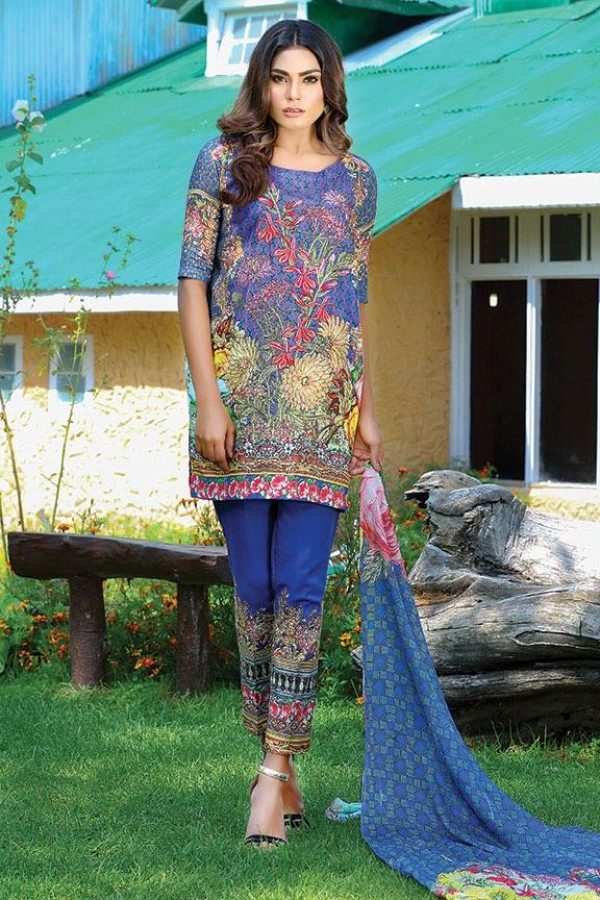 Rich Floral designed dress by motifz for fall parties