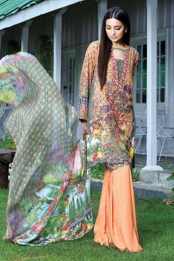 Motifz party wear winter dress with flared trouser