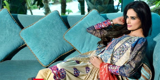 HSY Summer Lawn Collection 2015 By Ittehad Textile