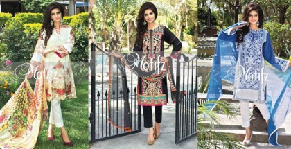 Motifz Embroidered Lawn Collection 2015 Vol 2 With Prices