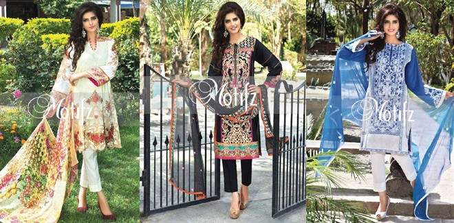 Motifz New Embroidered Lawn Dresses 2017 Vol 2 With Prices
