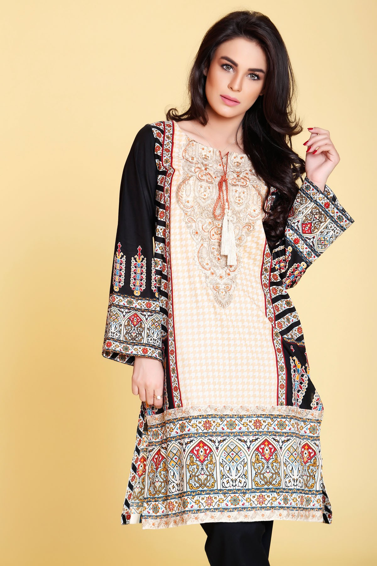 Printed Kurta For Summers By Origins 2017