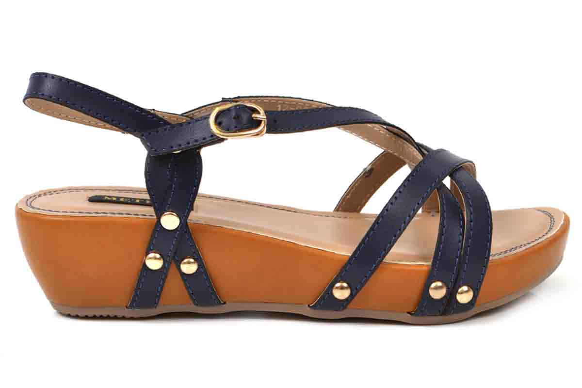 Strappy summer Sandals by metro shoes 2017