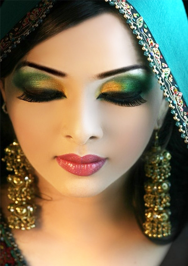 Arabic eye makeup