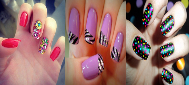 Best Cute & Stylish Nail Art Designs For Eid 2015-2016