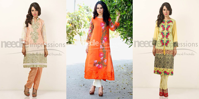 Needle Impressions Ready To Wear Summer Collection 2015