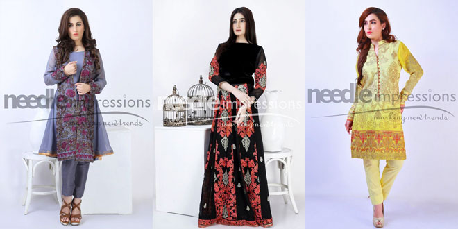 New Needle Impressions Chiffon Collection 2016-2017