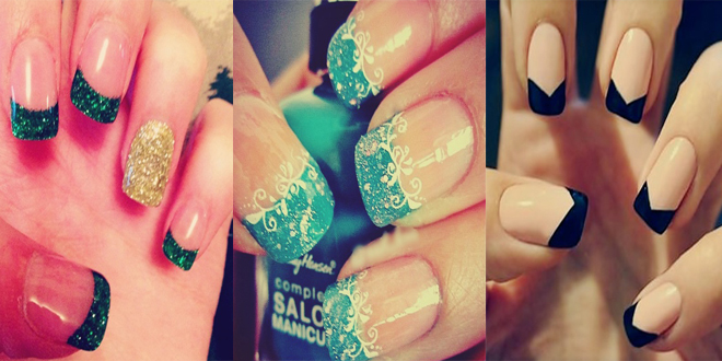 Top 10 Best Amazing French Tip Nail Art Designs