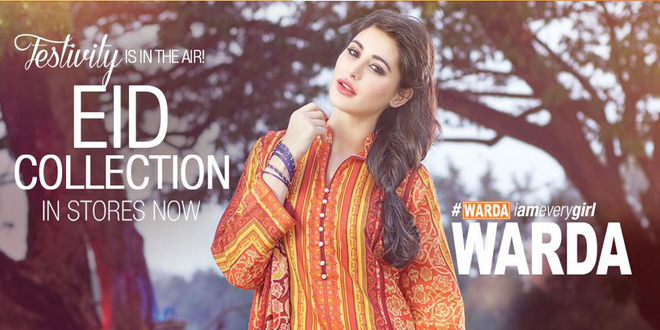 Warda Latest Eid Collection 2015 Catalog With Prices