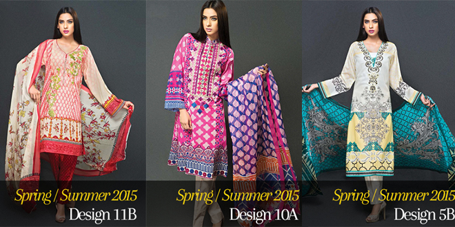 Zeniya Lawn Summer Collection 2015 By Deepak Perwani