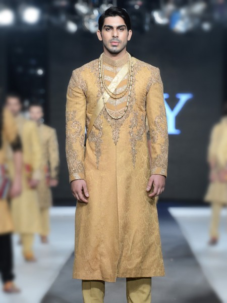 HSY Embroidered sherwani collection