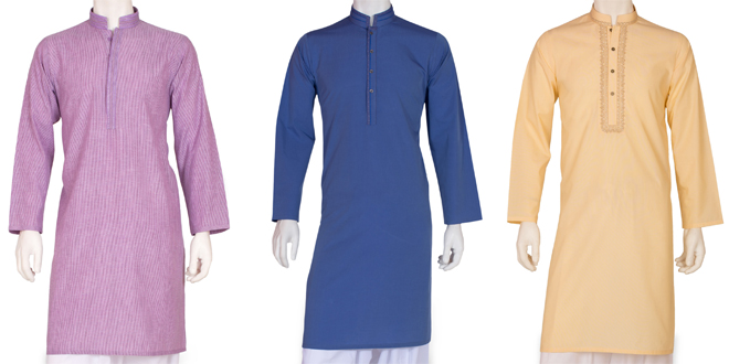 New Men Summer Eid Kurta Collection 2016 By Cambridge