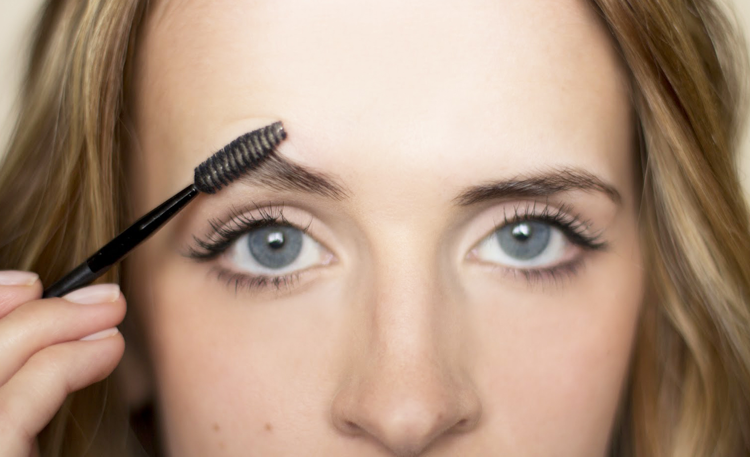 Use the Brow Brush
