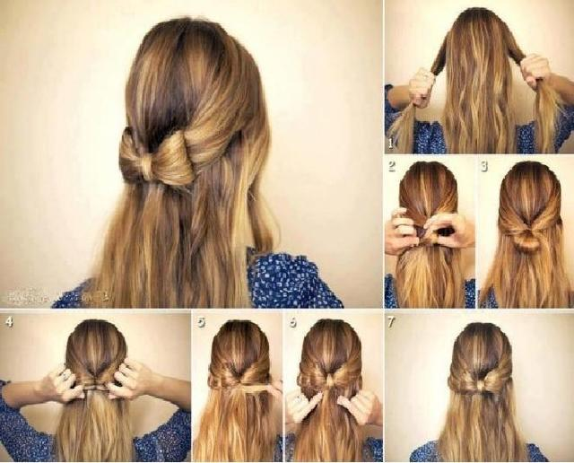 Fabulous Eid Special Hairstyles For Short Amp Long Hair 2016 2017 Beststylo Com Short Hairstyles Gunalazisus
