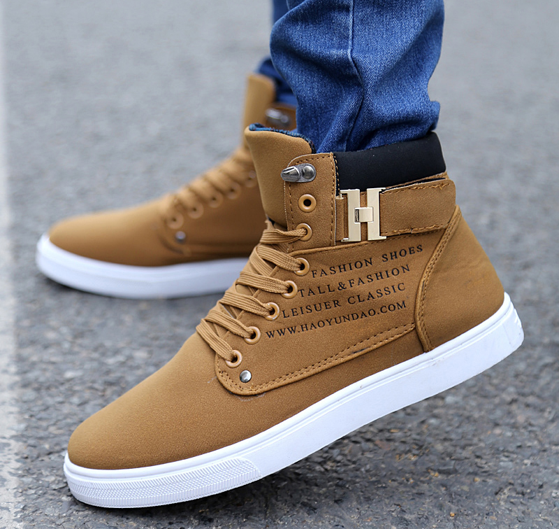 Casual brown Sneakers for men