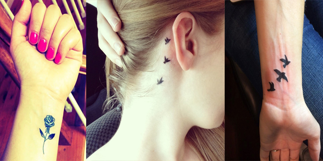 Cute Small Tattoo Designs with Meanings for Women